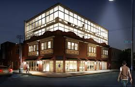Glass Box House Big Glass Box Descending On Point Breeze Avenue Ocf Realty