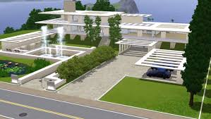 download the sims 3 modern house plans adhome