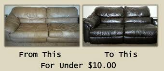 Paint On Leather Sofa The Easiest Cheapest Diy Project Turn Your Worn Out