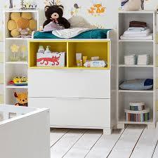 roller babyzimmer wickelkommode joris weiß gelb babyzimmer joris babyzimmer