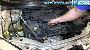 how to install replace ignition coil 2001 06 chrysler sebring 2 7l