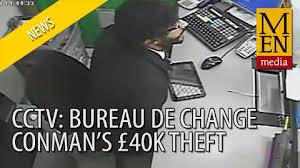 bureau de change manchester sharp suited bureau de change conman who escaped with