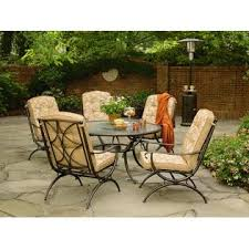 addison patio dining table with lazy susan improve your patio u2013kmart
