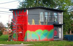 Wall Mural Dense Forests Peel Detroit Graffiti Bikes Books A Little Music