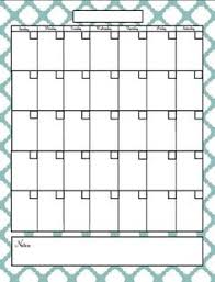 printable blank calendar template u2026 pinteres u2026