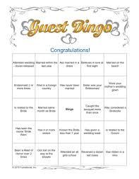 wedding words for bingo printable bridal shower bridal shower