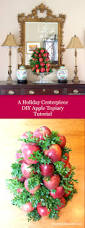holiday centerpiece ideas apple tree entertaining and tablescapes
