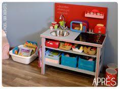faire une cuisine pour enfant cuisine en bois pour enfant pastel en bois 107x41x109cm cette