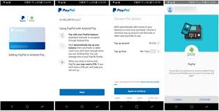 android pay stores paypal app officially updated with support for android pay
