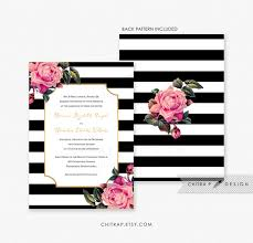 black and white striped wedding invitations informal wedding invitation wording exles tags