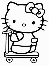 84 best hello kitty coloring pages images on pinterest hello