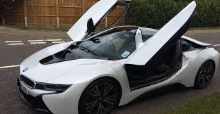 Bmw I8 Exhaust - 18 year old drives bmw i8 compares it to ford fiesta video