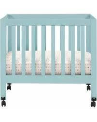 Mini Crib Sale Deal On Origami Mini Crib Lagoon