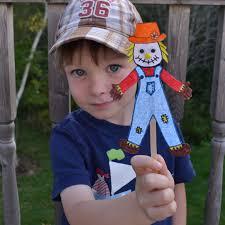 east coast mommy ecm kids u0027 craft club 7 scarecrow paper doll