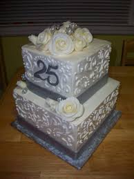 25th anniversary ideas wedding cakes top cake designs for 25th wedding anniversary idea