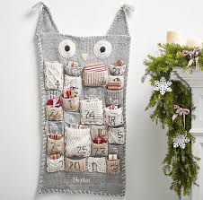 Pottery Barn Calendar My Owl Barn Christmas Advent Calendars Stockings And Bedding By