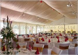 Wedding Tent Decorations Yashang Tents Blog Outdoor Tent Decorated With Linings