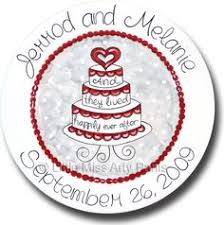 personalized ceramic wedding plates wedding plate personalized and by somethingbluepottery