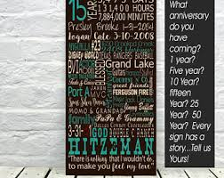 15 year anniversary gift for him 15 year anniversary etsy