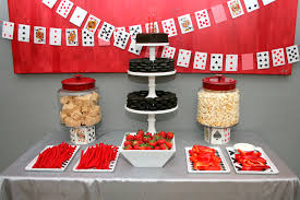 Black And Red Party Decorations Twenty One Paging Supermom
