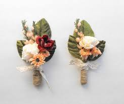 boutineer cost mens wedding boutonniere rustic boutonniere wedding