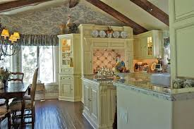 Traditional Wooden Kitchen Chairs by French Country Light Kitchen Traditional With Eat In Kitchen Off