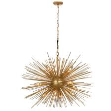 Sputnik Light Fixture by 30 Inch Astra Sputnik Satellite Pendant Light Chandelier