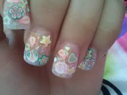 girly nail art by grlwonder on deviantart