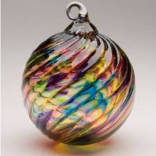 christmas ornaments hand blown glass amazon com