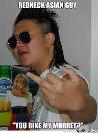 Old Asian Guy Meme - nice mullet by bwk279 meme center