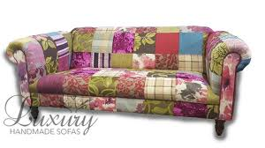 chesterfield sofa bed uk 3 seat patchwork chesterfield sofa stool with free mainland uk