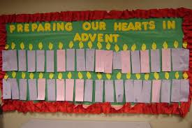 advent bulletin board ideas christmas in kinder pinterest