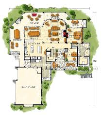 High End House Plans by High End Mountain House Plan With Finished Lower Level 12950kn