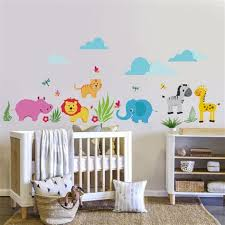 fresque murale chambre bébé charming decoration chambre bebe theme jungle 4 fresque murale