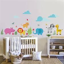 stickers panda chambre bébé decoration chambre bebe theme jungle 8 stickers panda pour