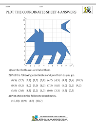 coordinate worksheets