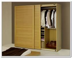 Wooden Storage Closet With Doors Shoe Storage Bench Sliding Doors Home Design Ideas