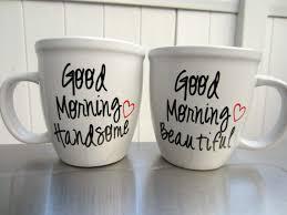 his and hers mug his and hers coffee mug set mr and mrs set morning