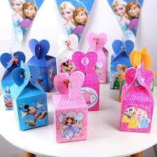 canape mickey 12 pcs lot enfants fête d anniversaire cadeau boîte de bonbons