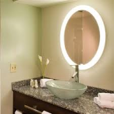 Lighted Mirror Bathroom Electric Mirror Bathroom Accessories Backlit Lighted