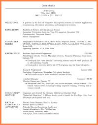 Resume Title Sample Sample Cover Letter For Graduate Management Trainee Position Fdr