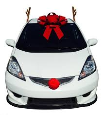reindeer antlers for car how to decorate your car at christmas
