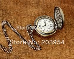 antique new movie doctor who tardis pocket watches quartz necklace