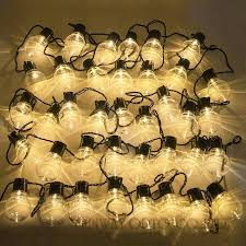 patio lights uk novelty 38 pcs clear ball 10m led string festoon lights string