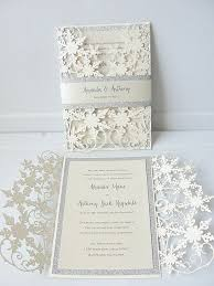 how to make your own wedding invitations winter wedding invitation ideas cloveranddot