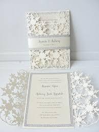 wedding invitiations winter wedding invitation ideas cloveranddot