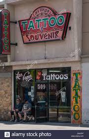 tattoo and souvenir shop in fremont street downtown las vegas