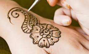 membuat alis dengan henna salonhenna jasa henna dan makeup