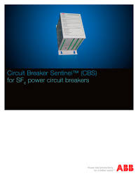 circuit breaker sentinel cbs abb ag pdf catalogue