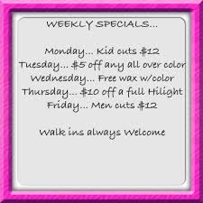 make yourself wonderful and avail hair trenz salon u0027s weekly